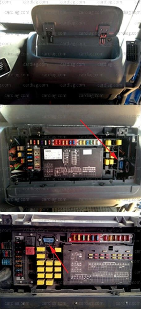 fuse box in volvo truck