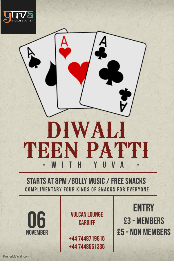 Diwali Bash Event One Cards Party With Yuva