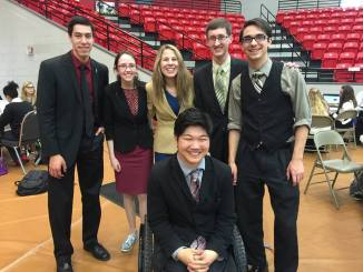 Union University's debate team competed at Lee College in Baytown, TX this weekend.