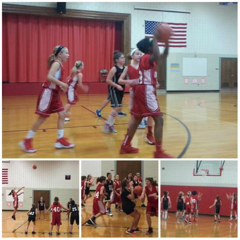 DCC 5th and 6th Grade Girls Basketball Teams Defeat Brockway in Final Game