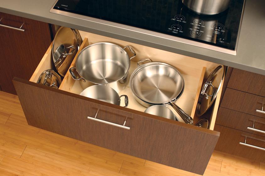 Cardinal Kitchens Baths Storage Solutions 101 Pots
