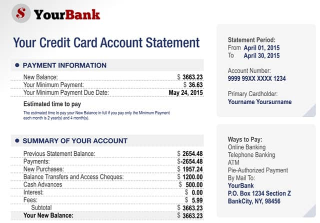 What is a Credit Card Balance?\u201d \u2014 Top 0 Transfer Offers