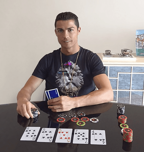 Christian Bale Iphone Wallpaper Cristiano Ronaldo Reportedly Set To Join Pokerstars Team