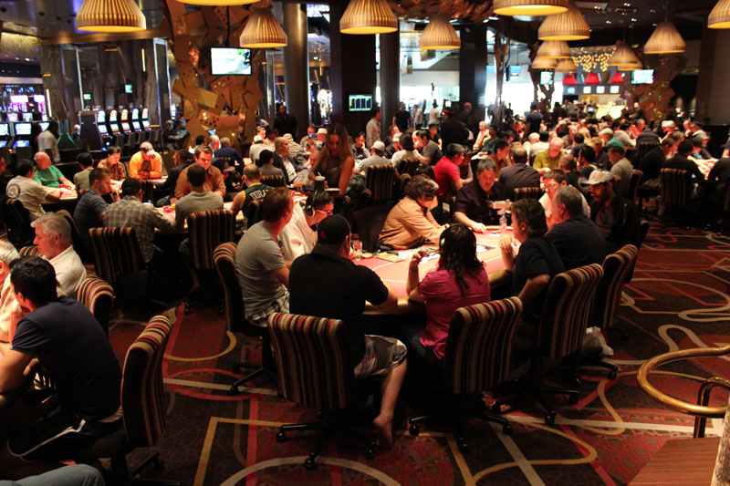 Nevada Poker Rooms Match 2015 Revenues in October