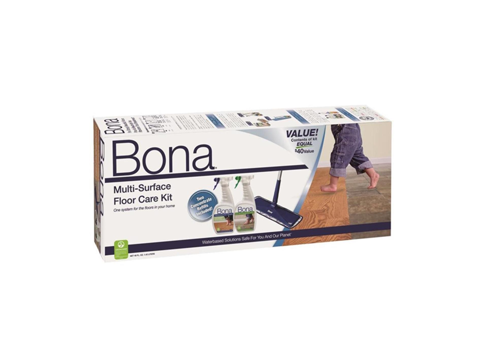 Bona Multi Surface Floor Care System Cardy Vacuum