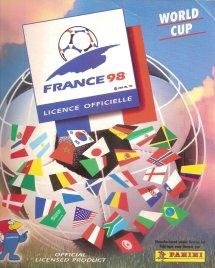 Panini France 98 Official Sticker album book