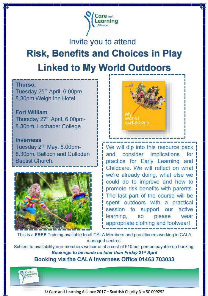 Training Opportunity Risk, Benefits and Choices in Play Linked to
