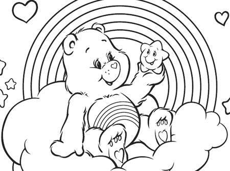 Have A Rainbow Day Care Bears Australia Welcome To