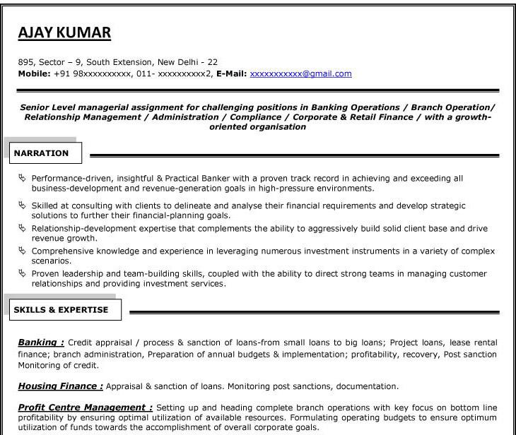 mid career resume sample - Onwebioinnovate - mid career resume