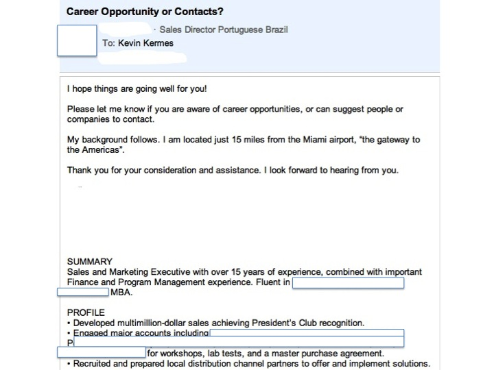 The Anatomy of a Great LinkedIn Update (AKA How to Get Hired - how to search resumes on linkedin