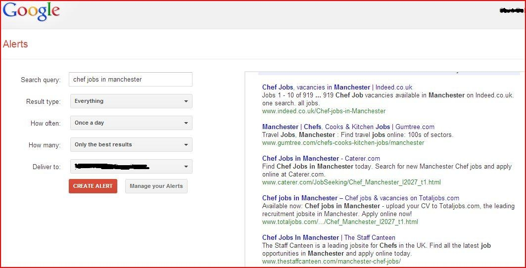 Find Out About Job Openings First with Google Alerts - leading job search sites