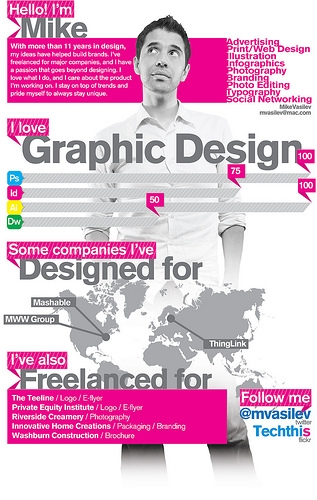 Anatomy of a Great Infographic Resume - infographic resumes