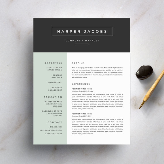 Break These Rules When Designing Your Resume Career Contessa - Resume Design