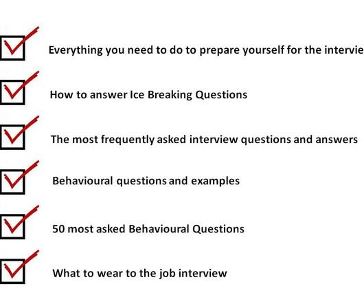 preparing for a behavioural interview - Baskanidai