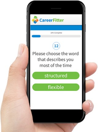 Career Test  Career Research by CareerFitter