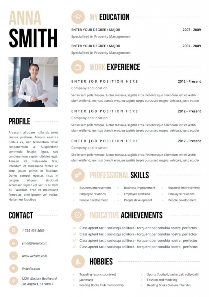 Looking For A Job? You Need One Of These Killer CV Templates From - a great cv example