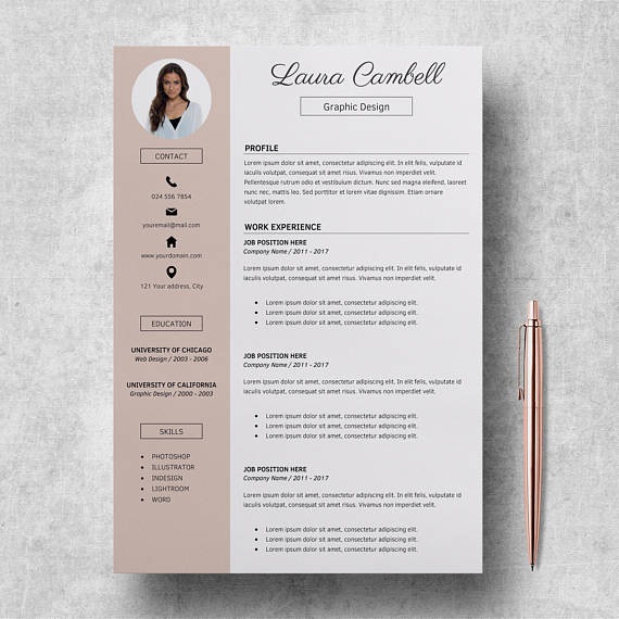 14 Incredible CV Templates For Every Job Type - Career Girl Daily