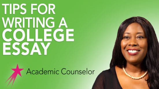 Tips for Writing a College Essay Career Girls - tips on writing a college essay