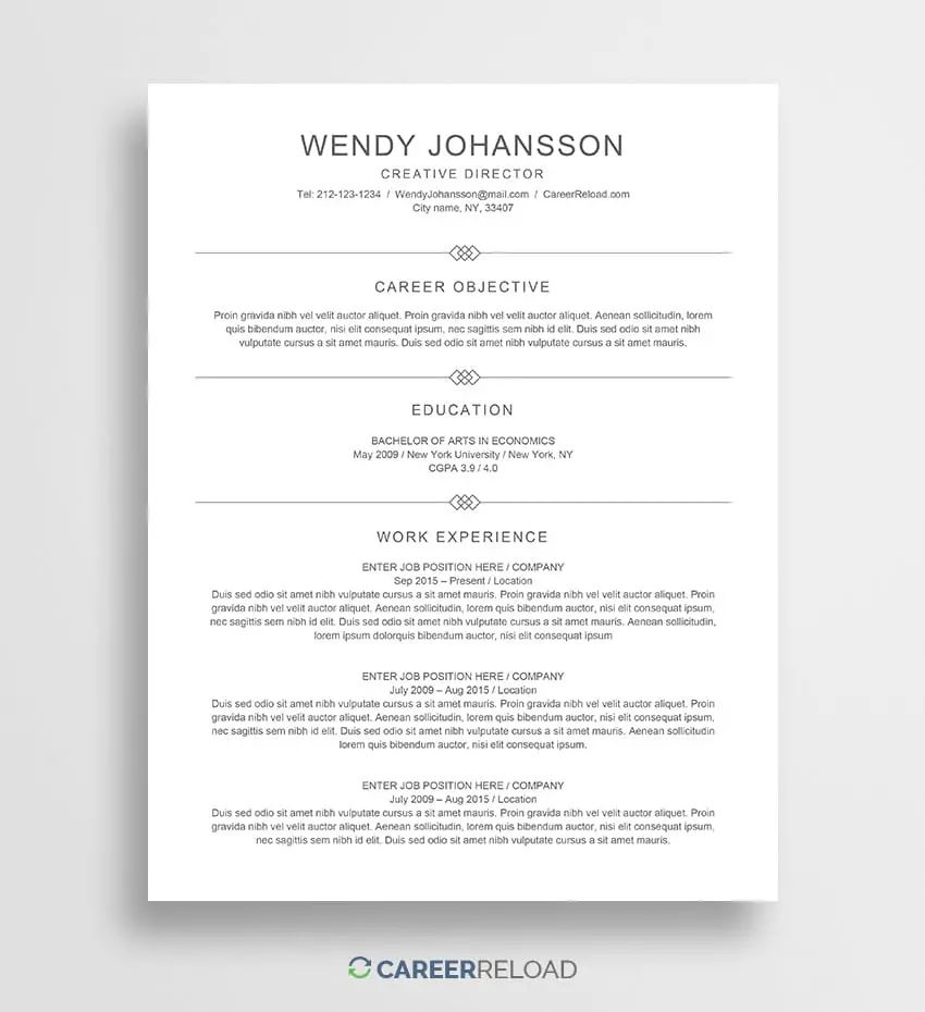 where to find resumes online for free