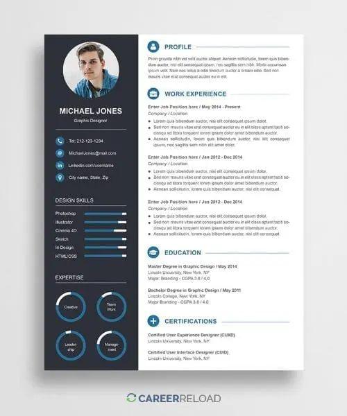 word resume templates free michael burch