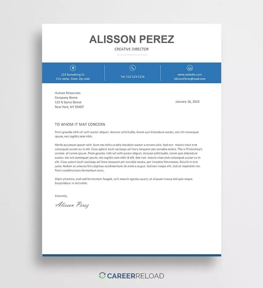 find resume templates on word