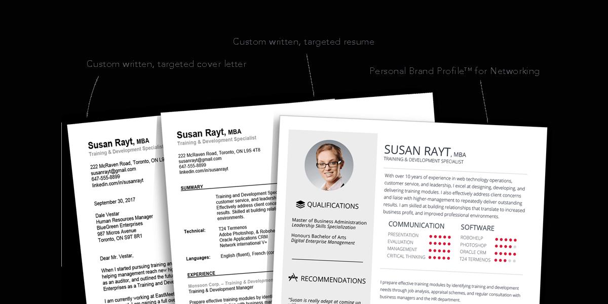 resume writing service mississauga