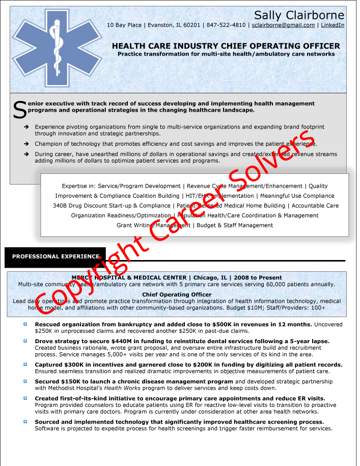 Resumes  Self-Marketing Collateral - Career Solvers - brand officer sample resume