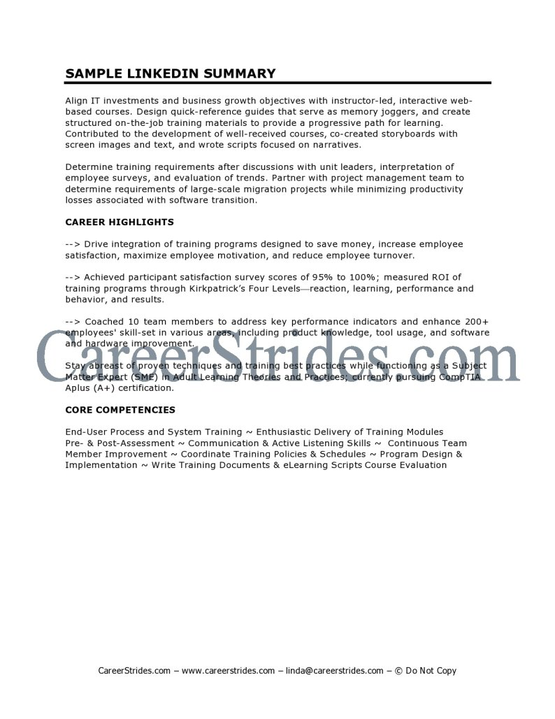Resume soft skills on resume
