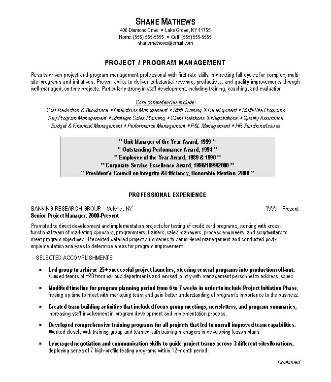 good project manager resume examples best technical project manager resume example livecareer submit your resume for