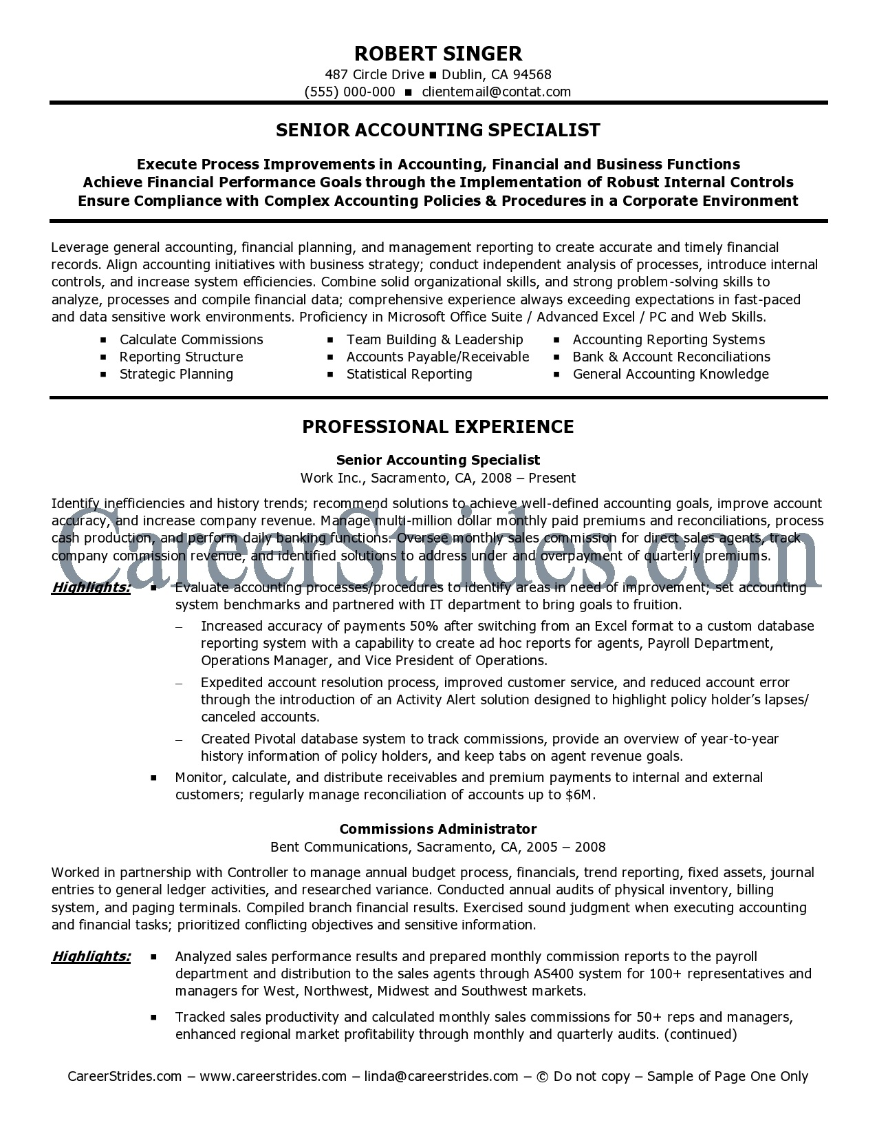 Cpa Manager Resume Sample Sample Customer Service Resume Cpa Manager Resume  Sample Accounting Resume Cover Letter