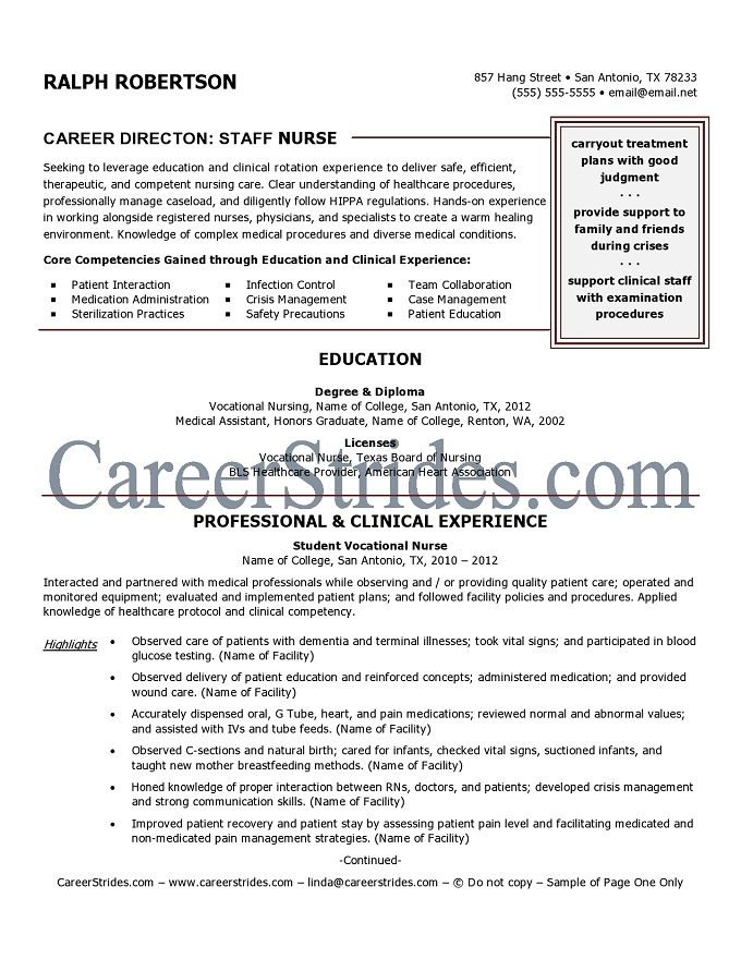nurse resume writer resume footprint nursing resume writing service expert onlypage one ofthis resume is visible