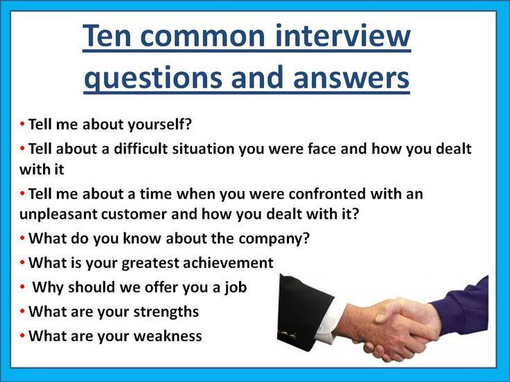 Interview Technique \u2013 Welcome to Career Studio