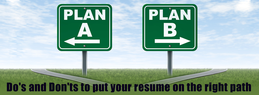 do's and don'ts in resume writing