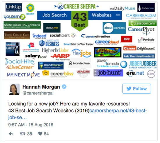 Top 28 Twitter Accounts to Follow for Valuable Career and Job Search