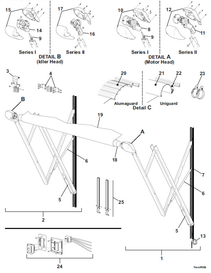 Large Of Sunsetter Awning Parts