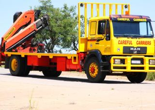 Crane Trucks with Trailers