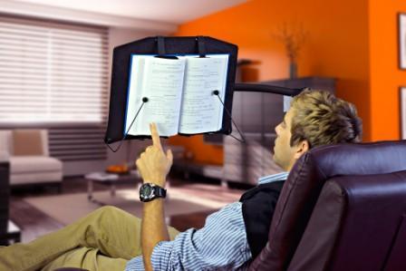 Levo G2 Book Holder Floor Stand Height Adjustable Floor