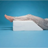 Elevated Leg Rest Wedge Pillow :: foot and leg positioning ...