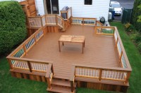 Create beautiful Patio decks to your old home garden ...
