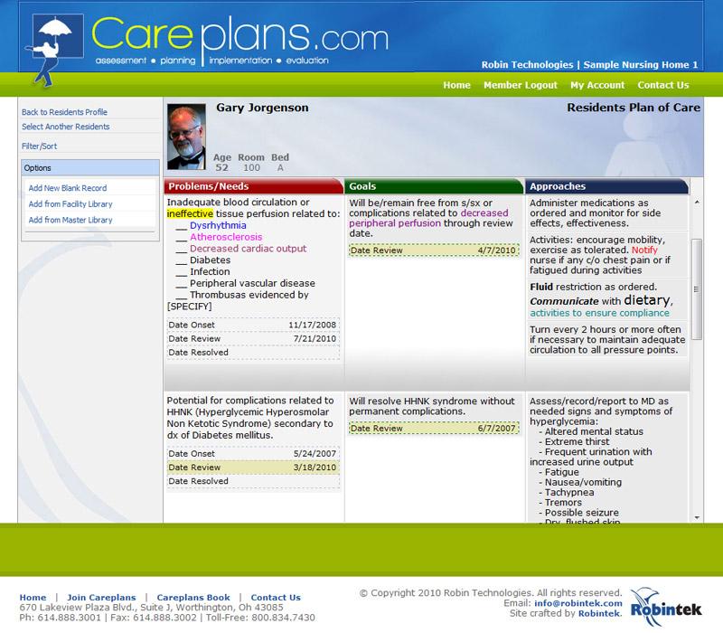 Careplans Careplan Builder