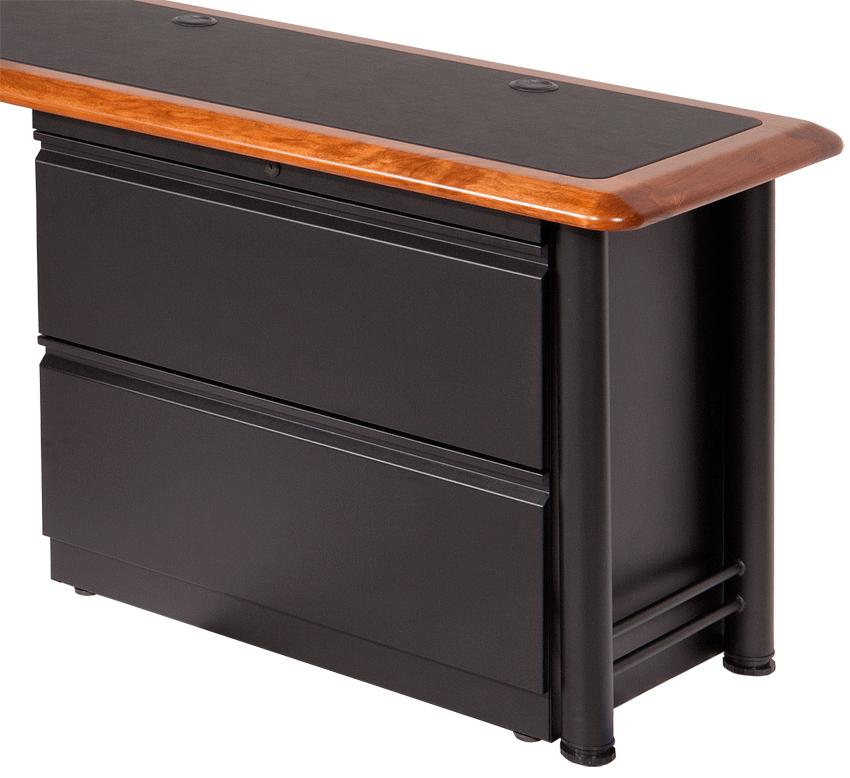Lateral File Cabinet For L Shaped Desks Caretta Workspace