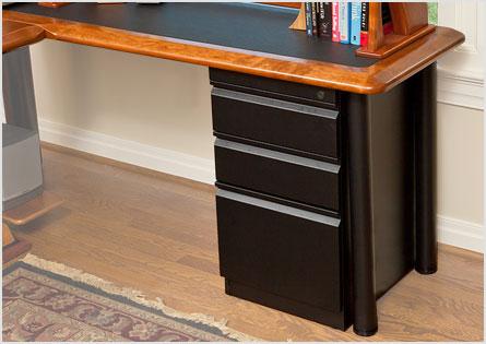 Artistic Computer Desk Petite L Shaped Right Caretta