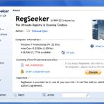 Limpieza de registro con RegSeeker