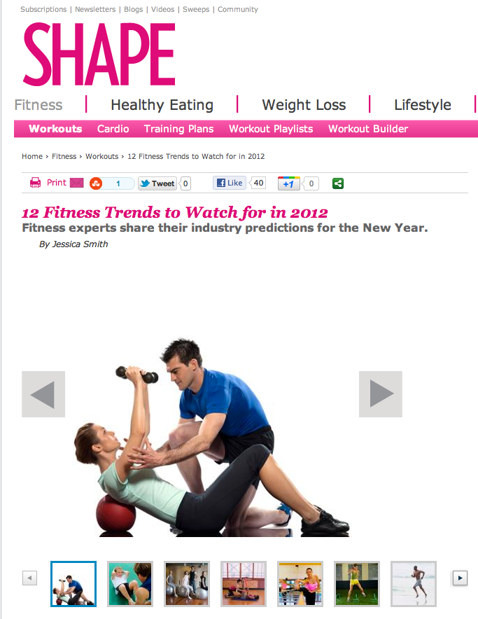 featured on shapecom 12 fitness trends to watch for in 2012