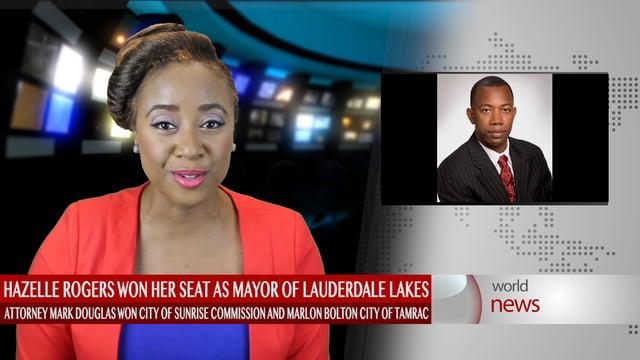 Sunrise elect, Mark Douglas makes history as Caribbean American - city of sunrise jobs