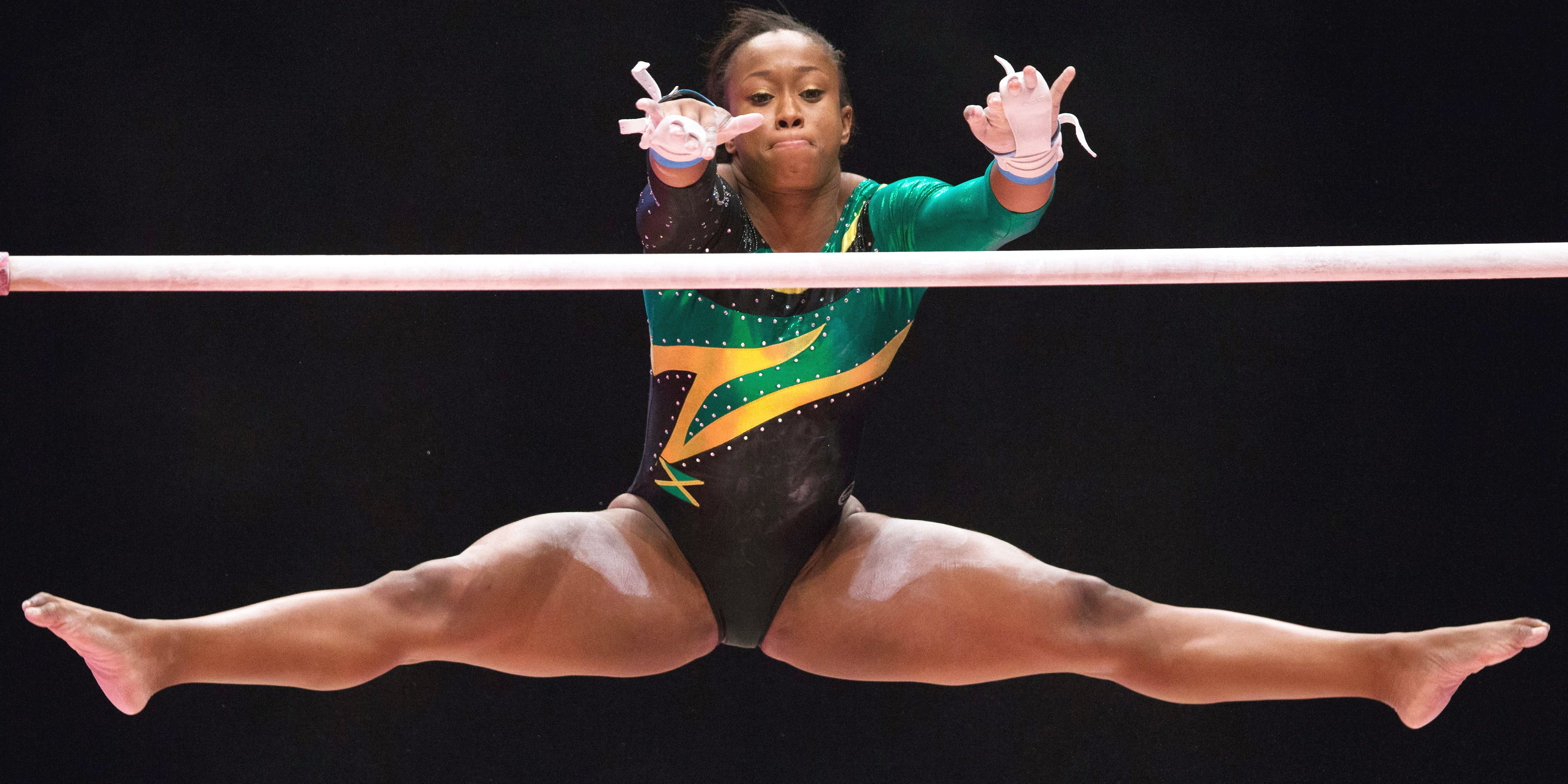 Top Honors For Jamaican Gymnasts