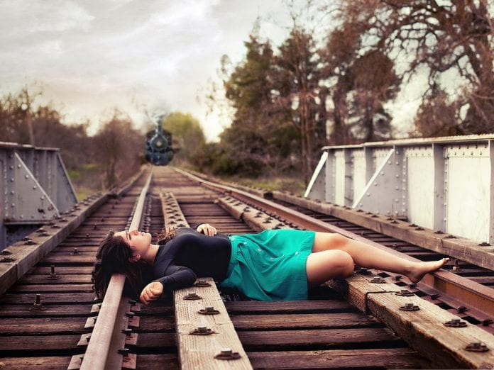 Alone Girl In Beach Wallpaper Suicide By Train On The Rise In Florida