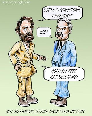 doctor-livingstone-presume-cartoon \u2013 Caricatures Ireland by Allan
