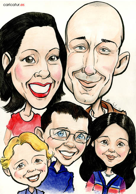 Housewarming present ideas from Caricatures Ireland