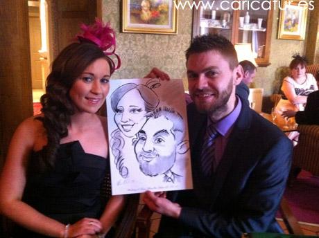 Roscommon wedding caricatures